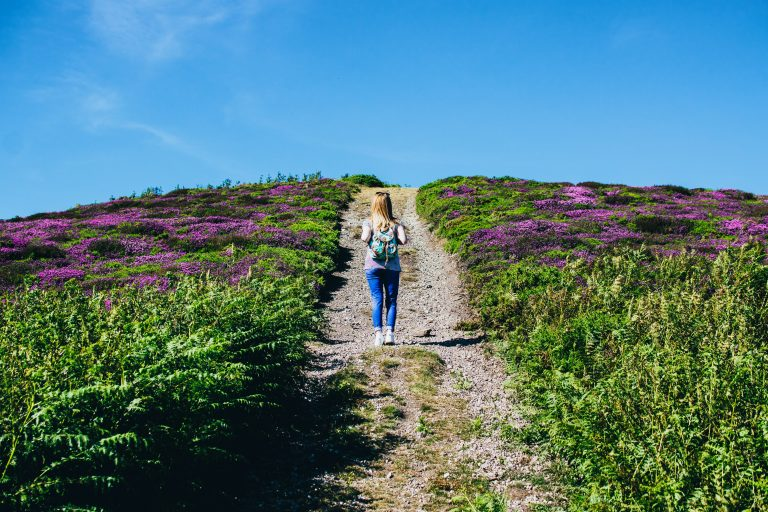 Hill walking for losing weight